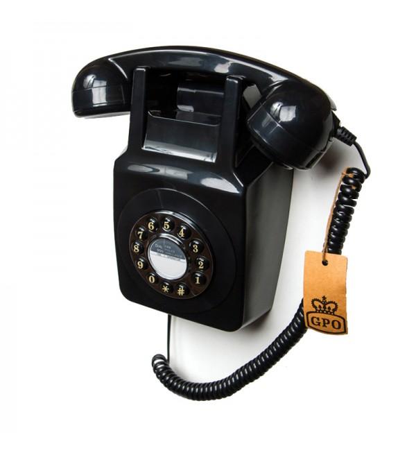 Teléfono de pared retro