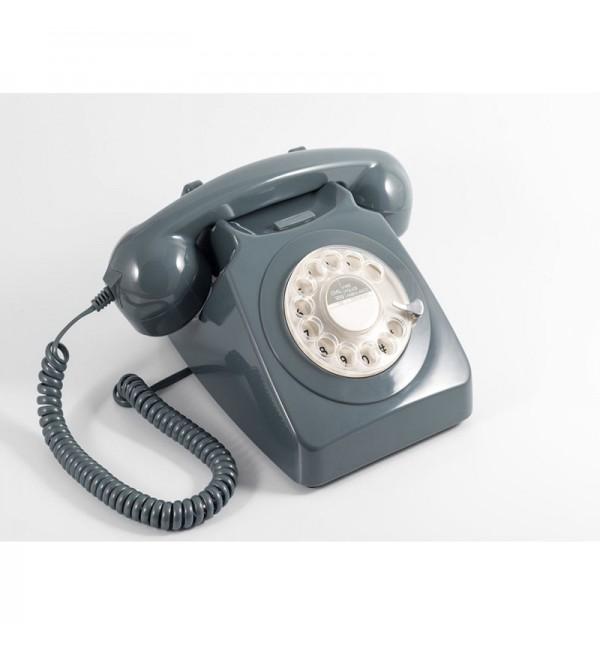 Teléfono giratorio antiguo
