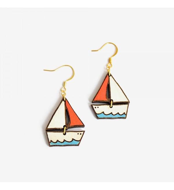 Pendientes Barco De Ensueño