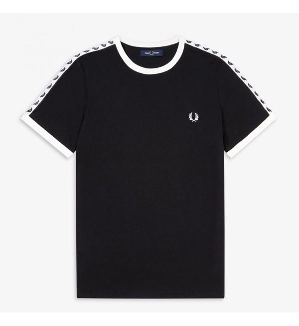 Camiseta Ringer con cinta...