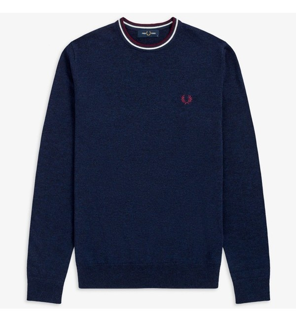 Jersey Fred Perry De Cuello...