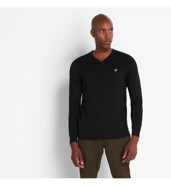 Jersey con cuello de pico L&S